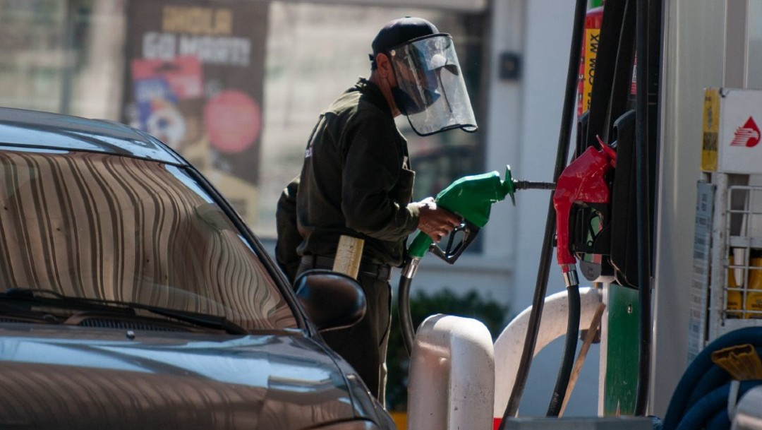 Vendedor de gasolina