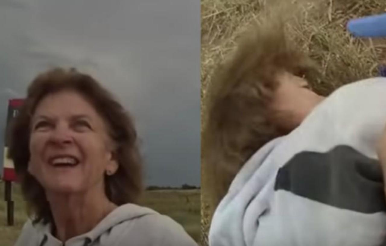 Policía a mujer de 73 con demencia y le rompe el brazo