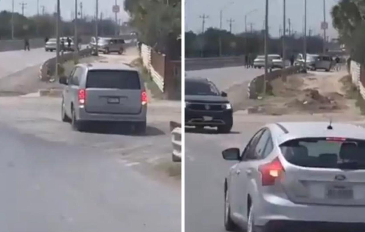 Criminales colocan retén para asaltar a paisanos en Reynosa