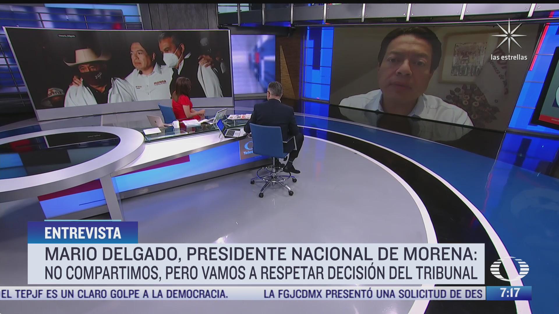 Entrevista con Mario Delgado, presidente de Morena, para Despierta