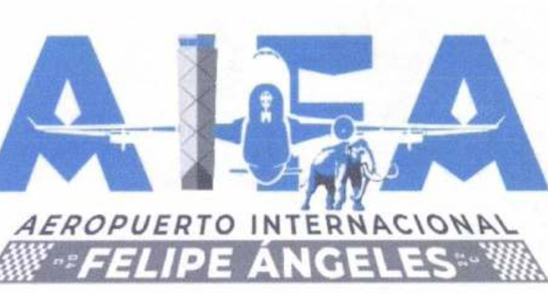 Usuarios plasman en Reddit propuestas de logotipos para el Aeropuerto Felipe Ángeles
