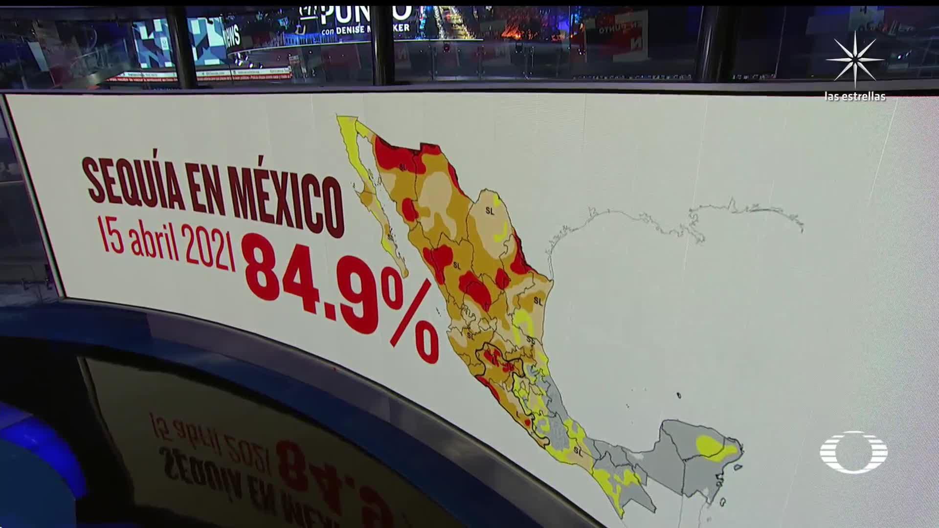 alerta por el aumento de la sequia en mexico