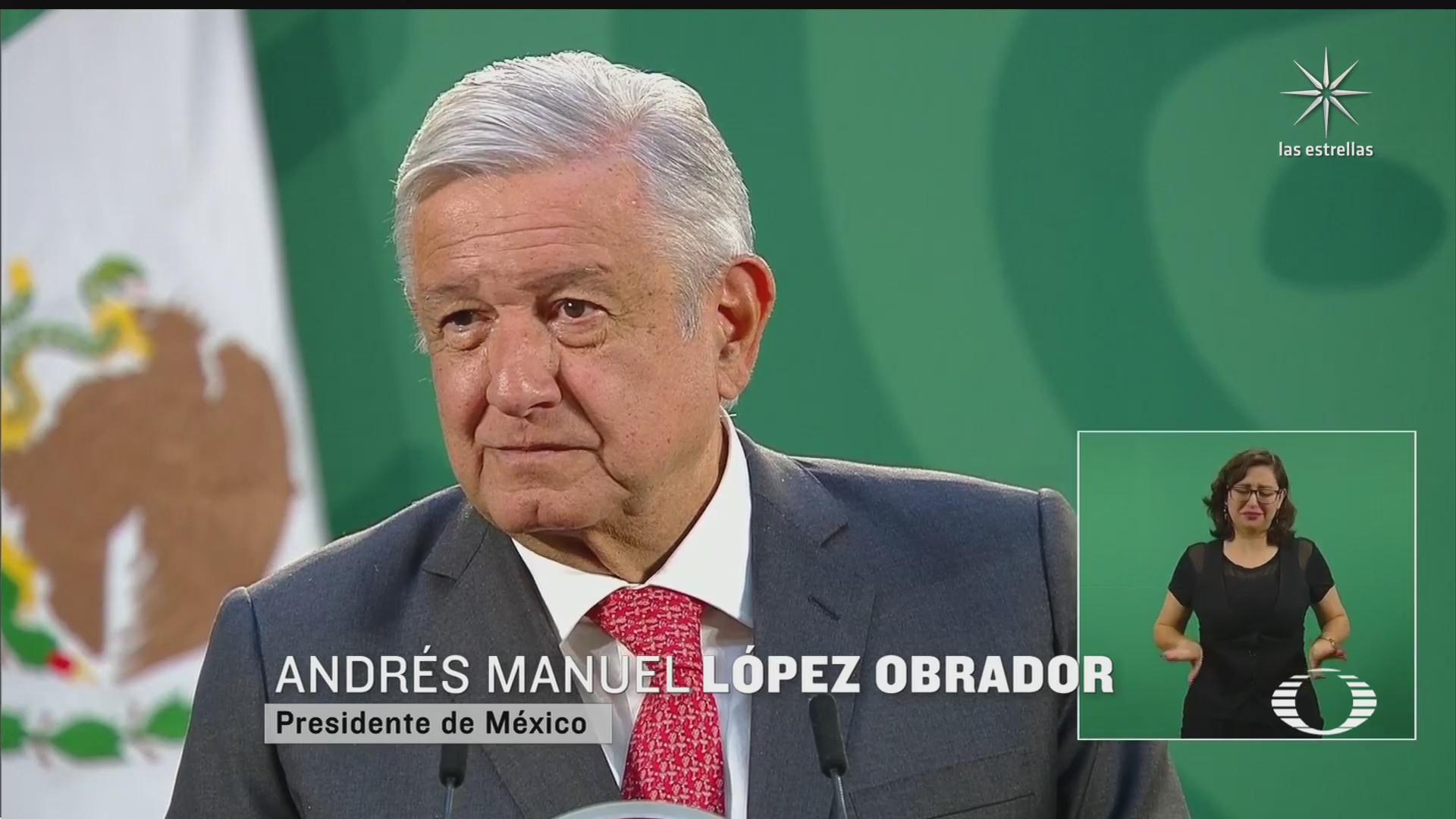amlo niega presion de su gobierno para someter a la autoridad electoral