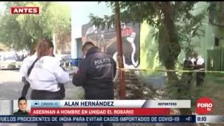 asesinan a hombre en unidad el rosario en tlalnepantla estado de mexico