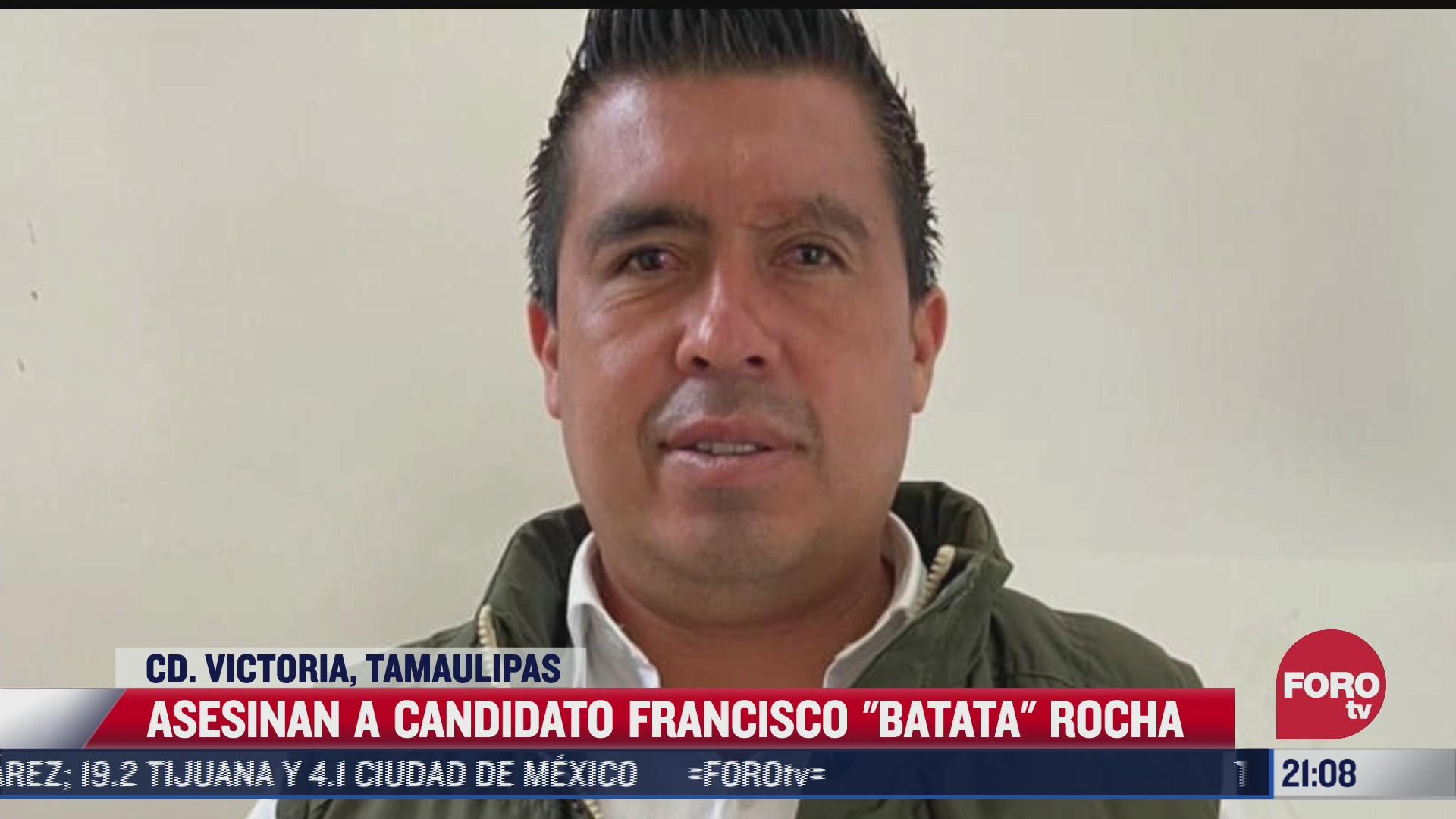 asesinan candidato en tamaulipas