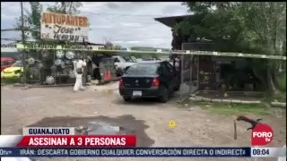 ataque armado deja 3 muertos en apaseo el alto guanajuato