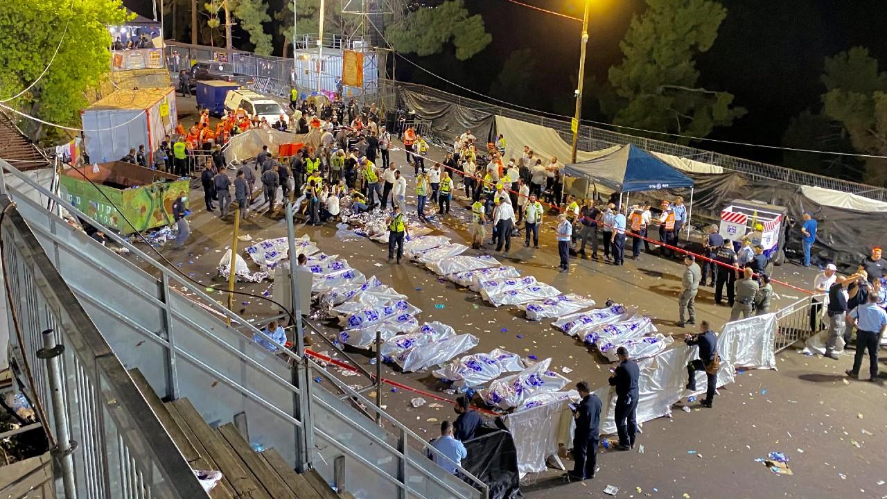 Aumentan a 44 los muertos por estampida humana en Israel