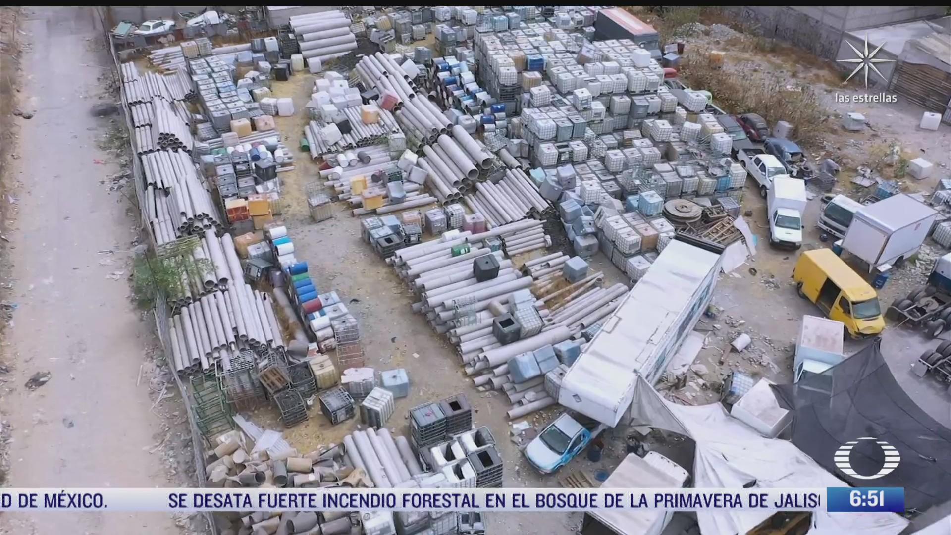 autoridades federales desmantelaron una toma clandestina en ecatepec edomex