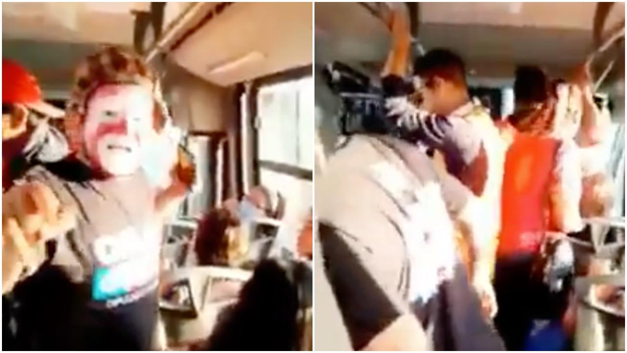 Balacera sorprende a payasos mientras hacen show en camión de Sonora