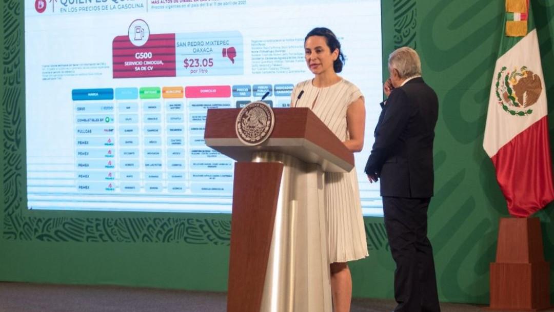 Berenice Romero Domínguez, encargada de despacho de Profeco