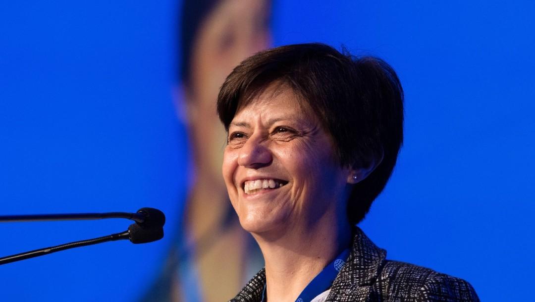 Blanca Jiménez, directora de Conagua