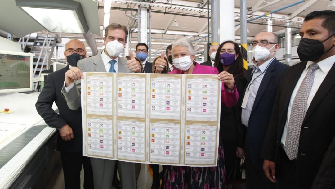 Boletas electorales contarán con candados y dispositivos que las vuelven infalsificables: INE
