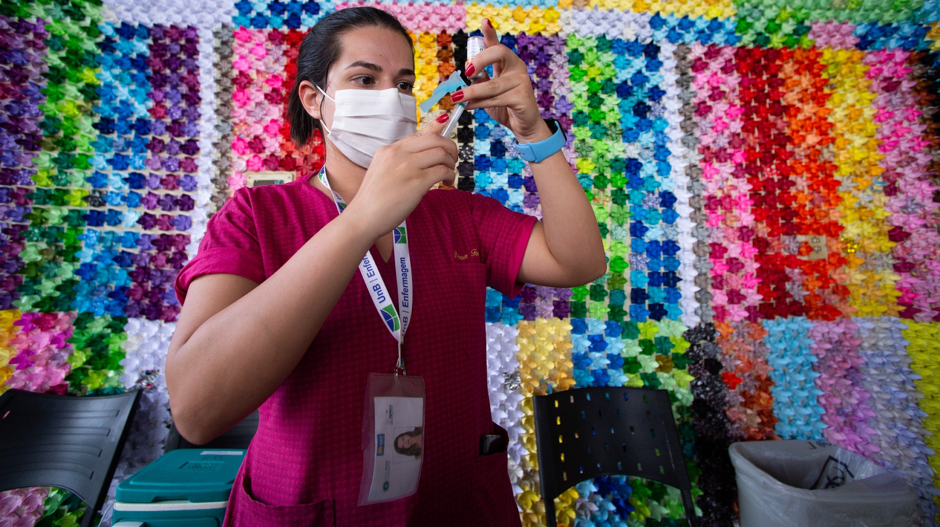 Brasil vacuna a toda una ciudad para un experimento mundial
