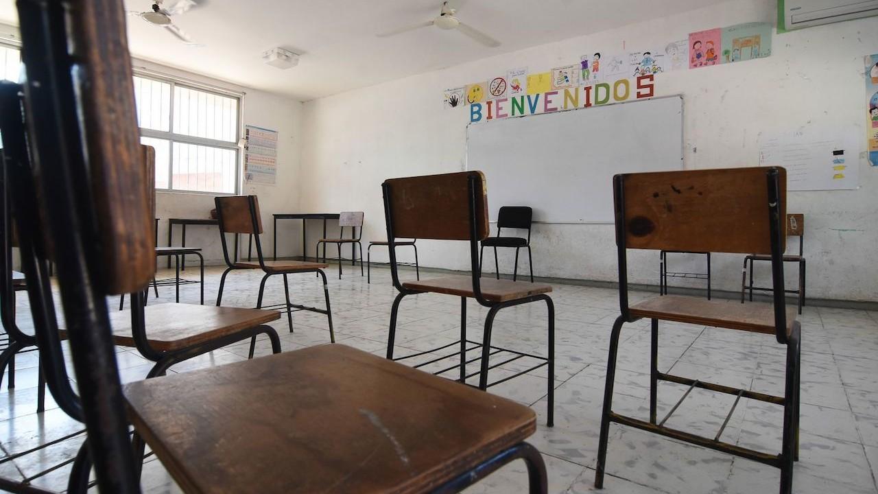 Regreso a clases en aulas en Campeche (Cuartoscuro, archivo)