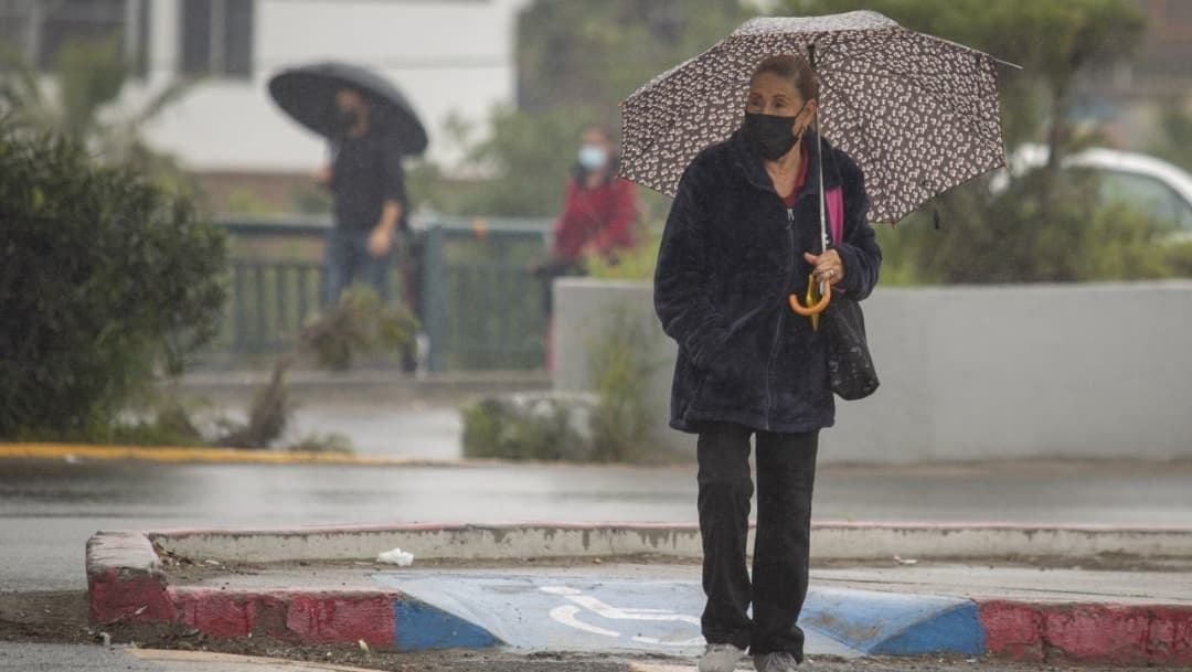 Canal de baja presión causará lluvias en norte y centro de México