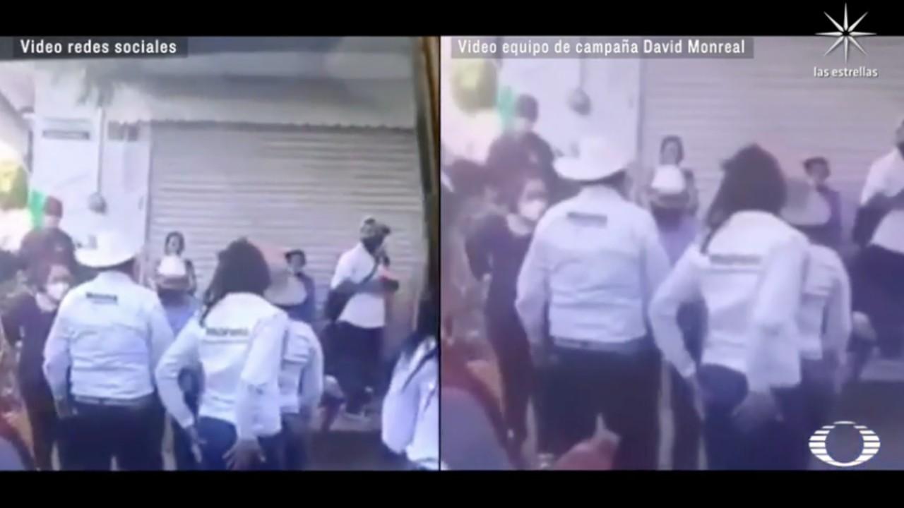 Candidato de Morena en Zacatecas, ¿hizo tocamientos a compañera?, las dos versiones