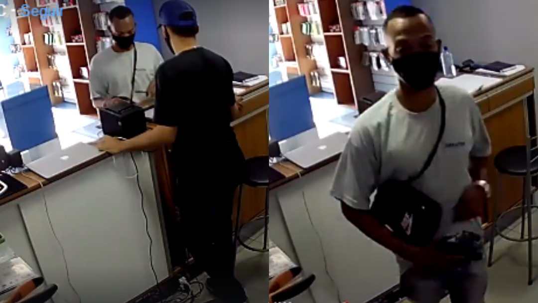 Ladrón roba tienda de celulares, es asesinado a tiros