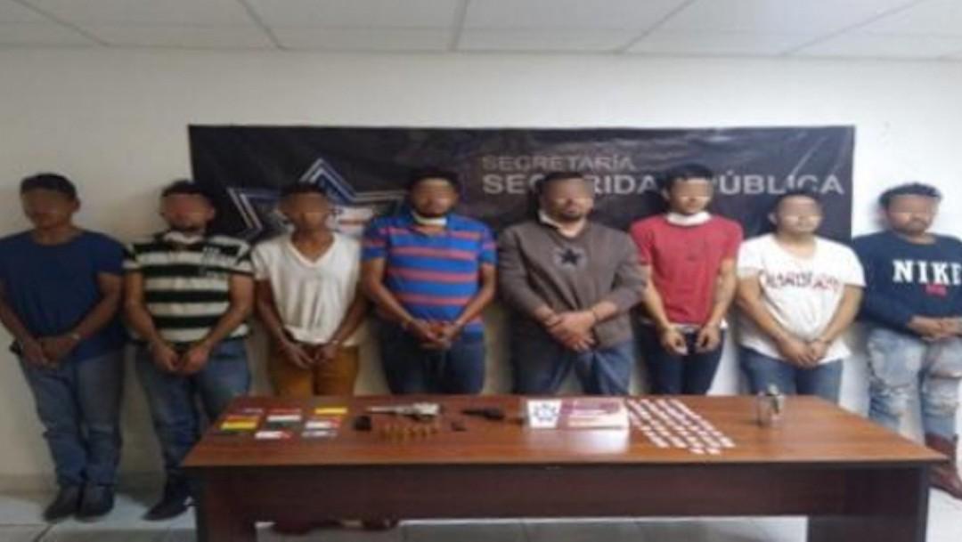 Detenidos ocho presuntos delincuentes originarios de Jalisco (SSP Puebla)