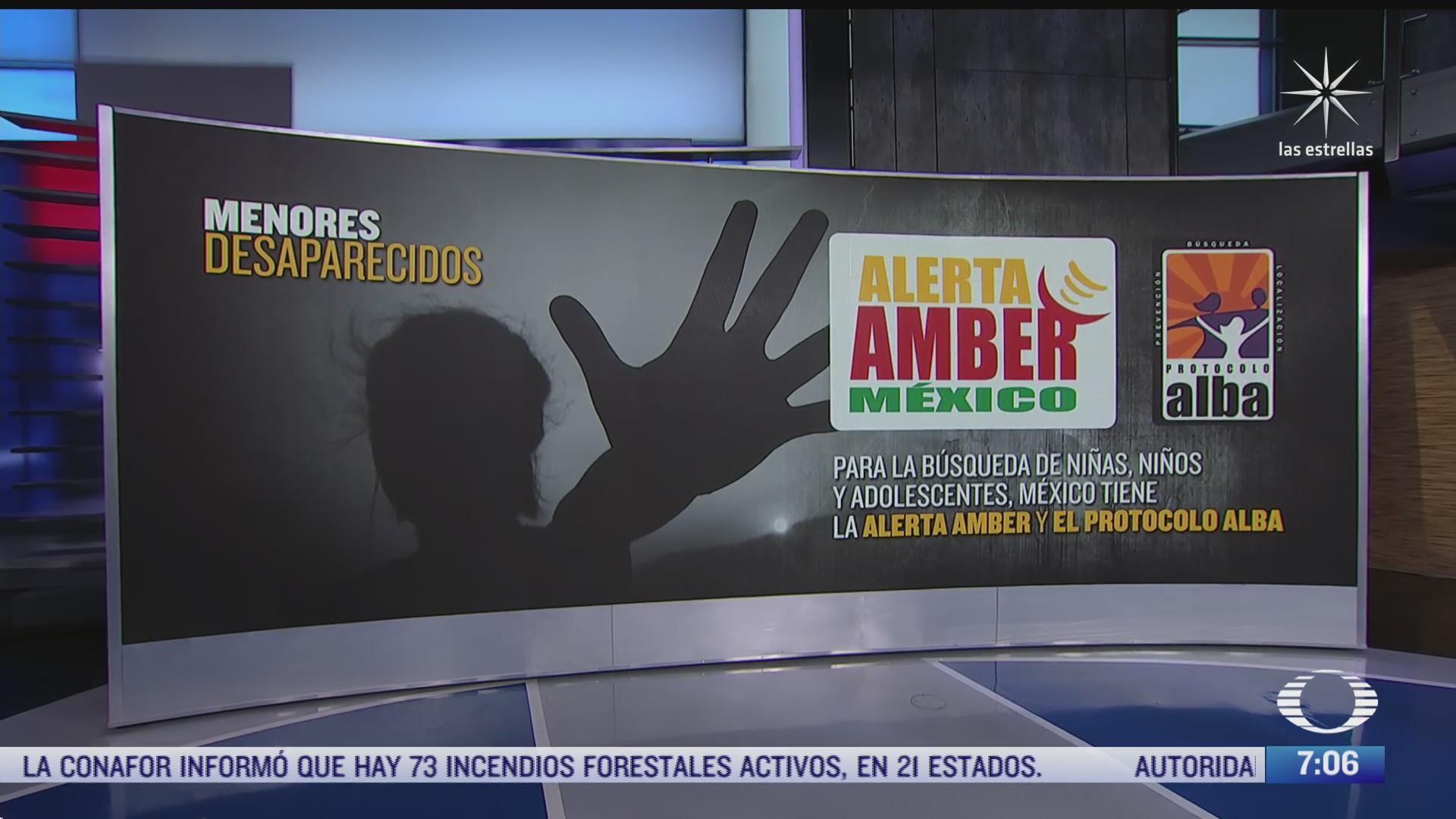 como funciona el nuevo protocolo de busqueda de ninos desparecidos en mexico