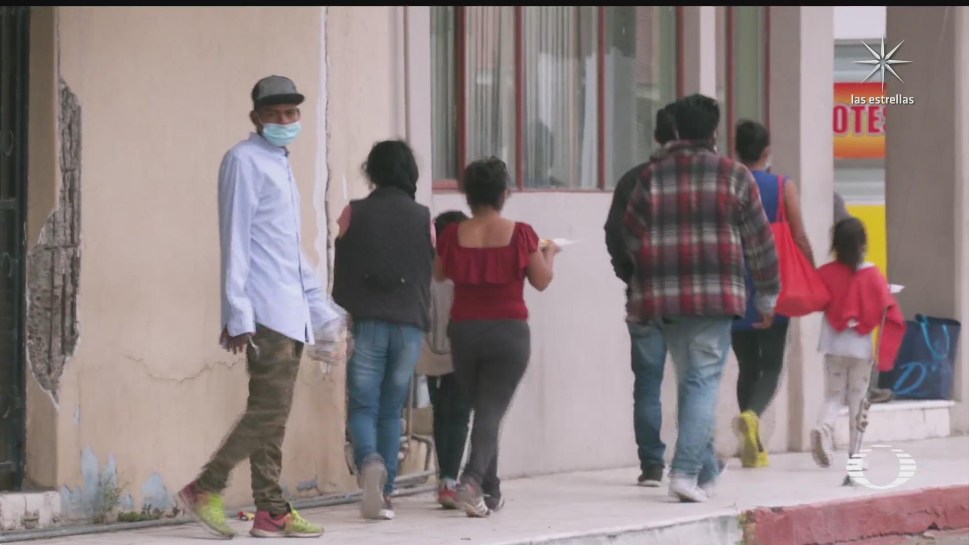 continua llegada de menores migrantes no acompanados a la frontera norte