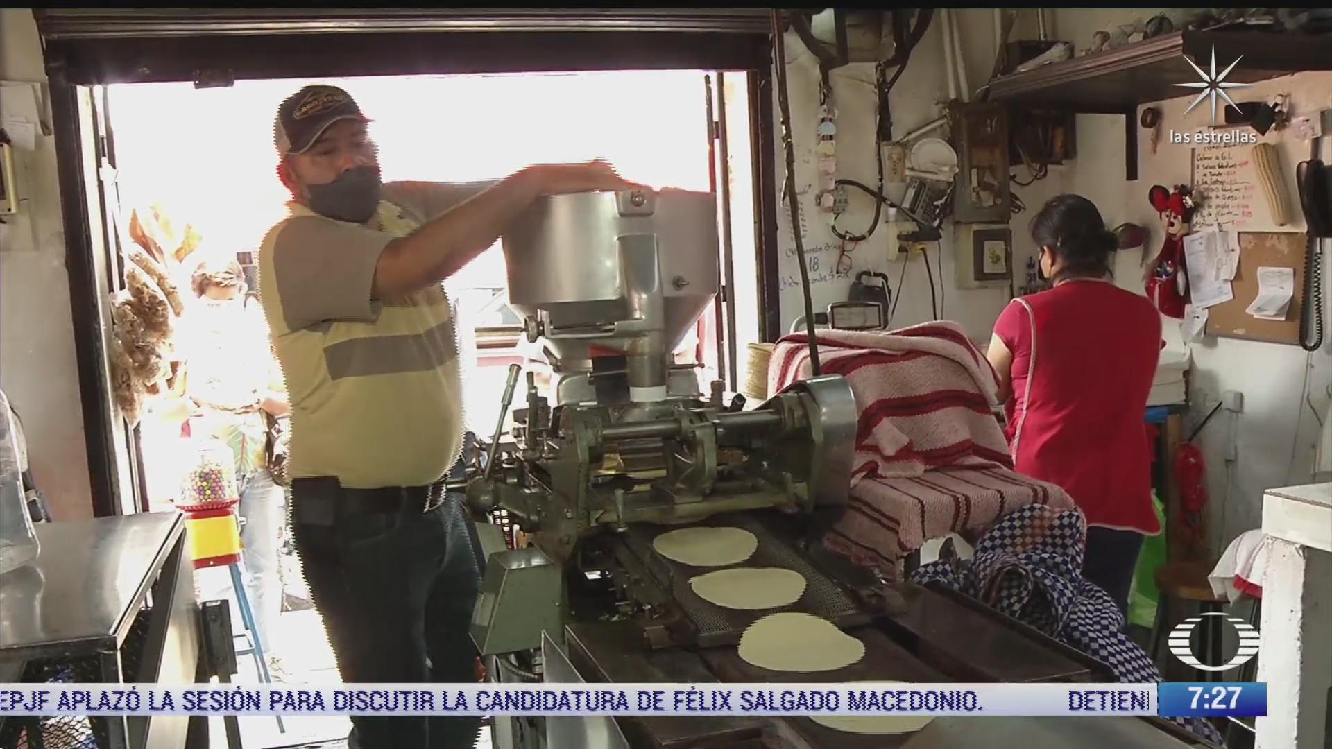 denuncian aumento en el precio de la tortilla