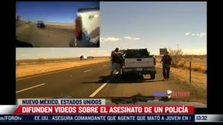 difunden videos sobre asesinato de policia de eeuu