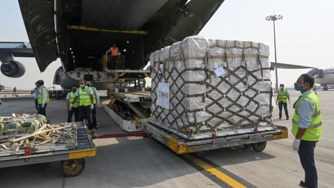 EEUU envía ayuda a India