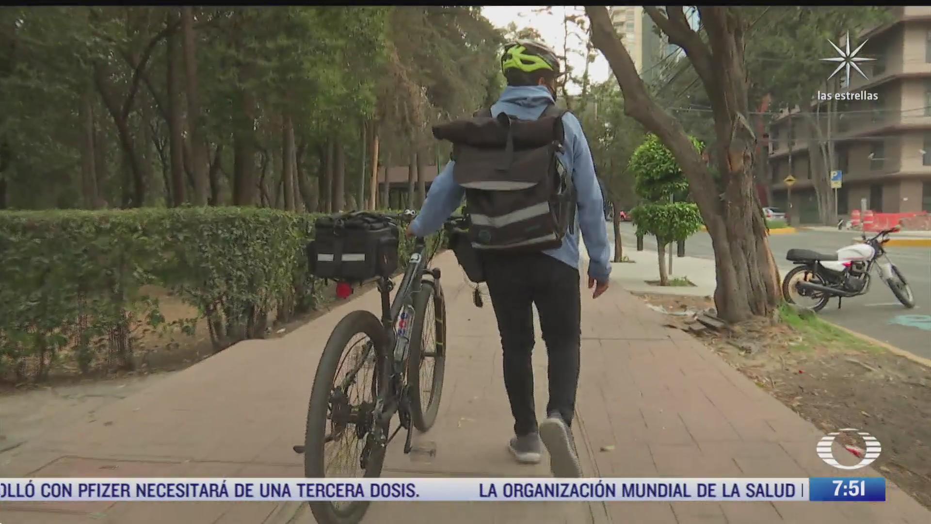 el venezolano roba bicicletas en la cdmx