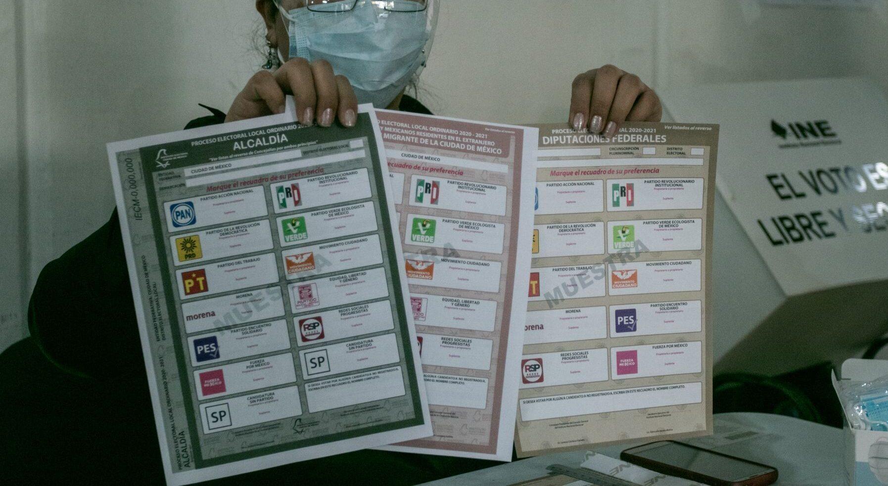Estos son los candidatos a diputados en la alcaldía Benito Juárez en las elecciones 2021