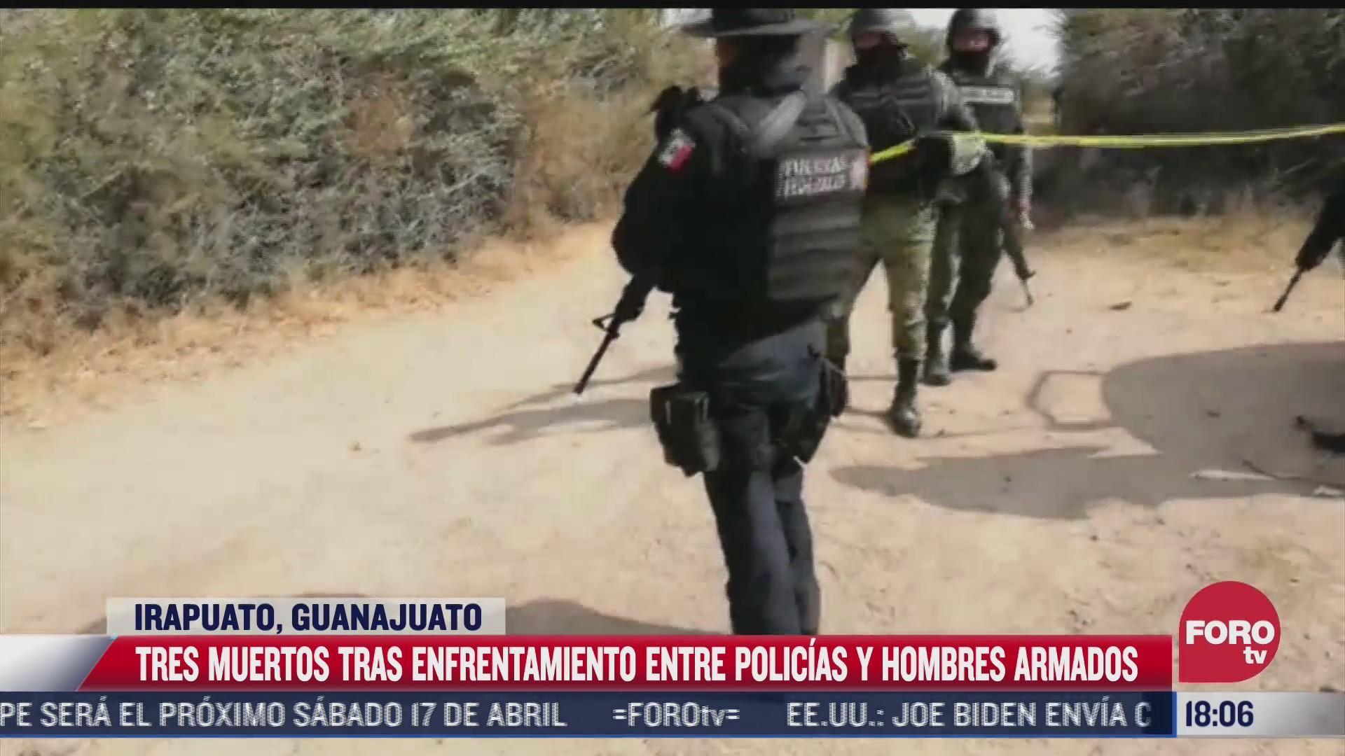 enfrentamiento deja 3 muertos en irapuato guanajuato