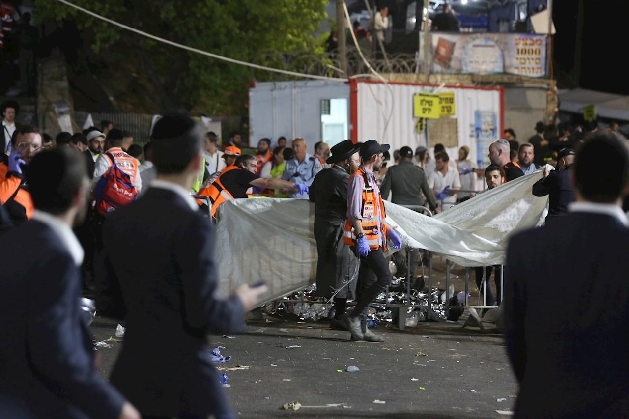 Estampida-durante-fiesta-judía-en-Israel-deja-varios-muertos