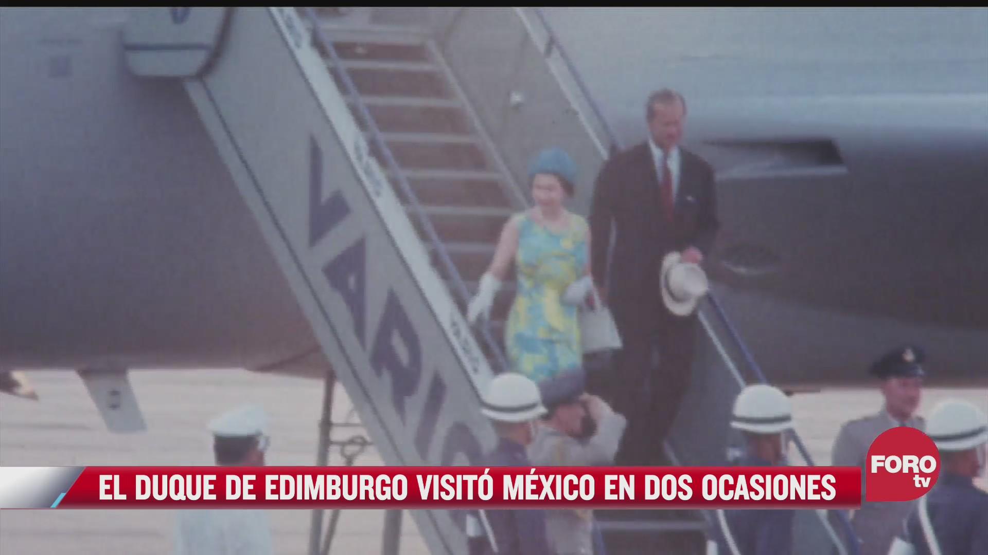 estas fueron las visitas a mexico del principe felipe