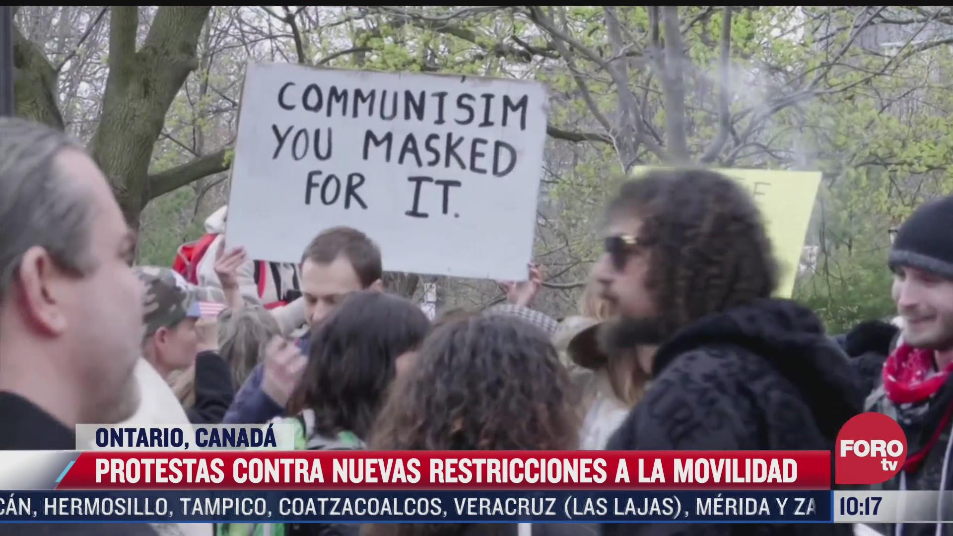 estos paises protestan contra medidas sanitarias ante covid