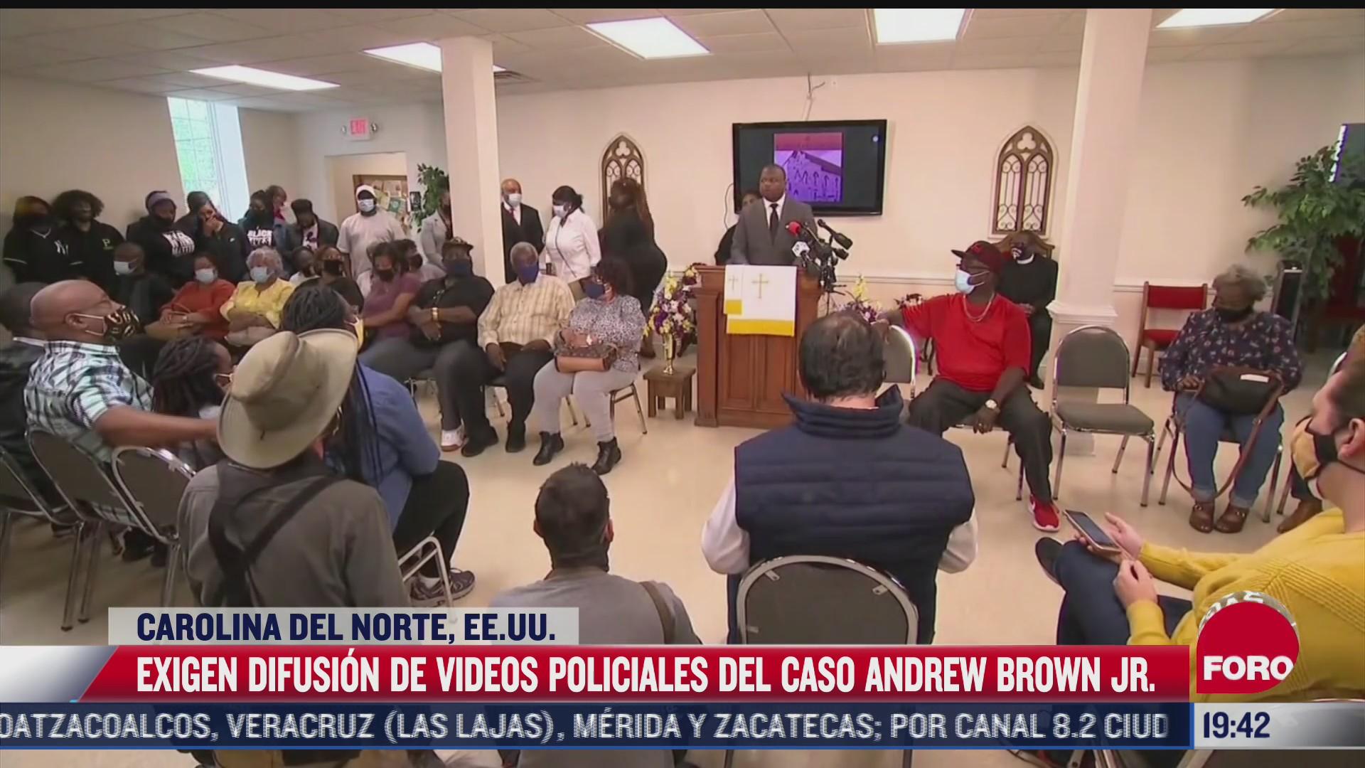exigen camara del cuerpo de policia que mato a afroamericano en carolina del norte