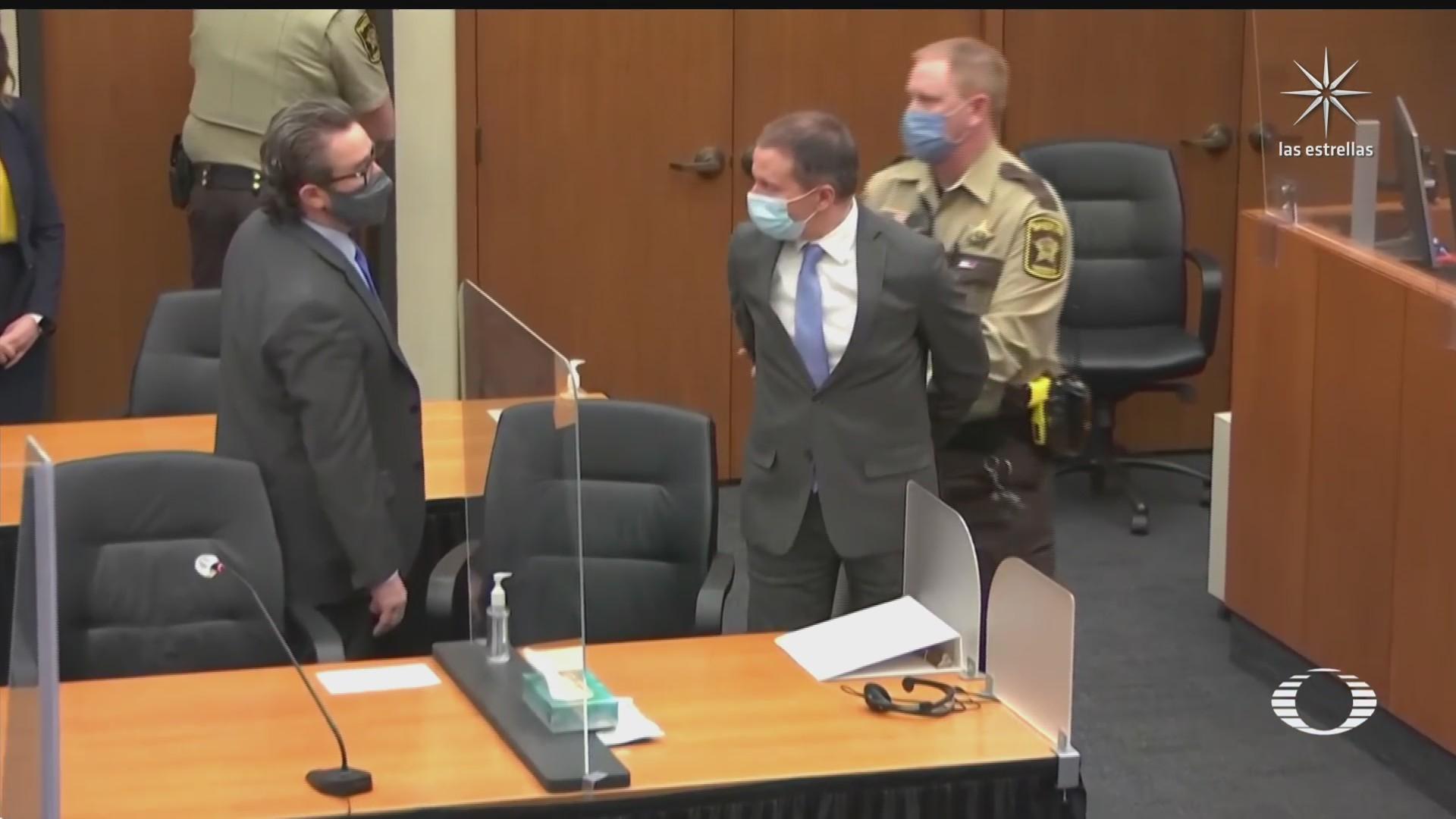 exoficial derek chauvin culpable de asesinato en caso de george floyd