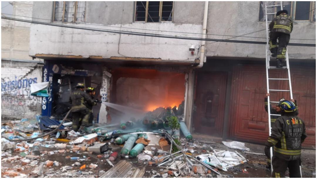 Explosión Iztapalapa