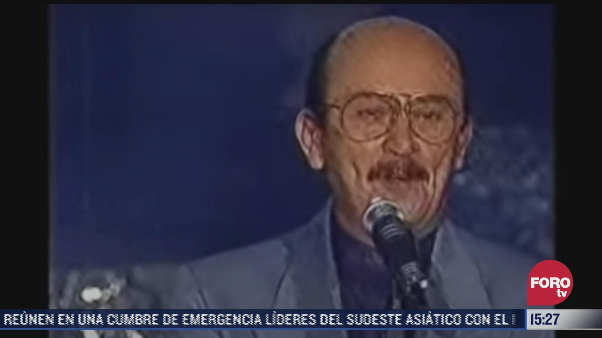 fallece el compositor mexicano sergio esquivel