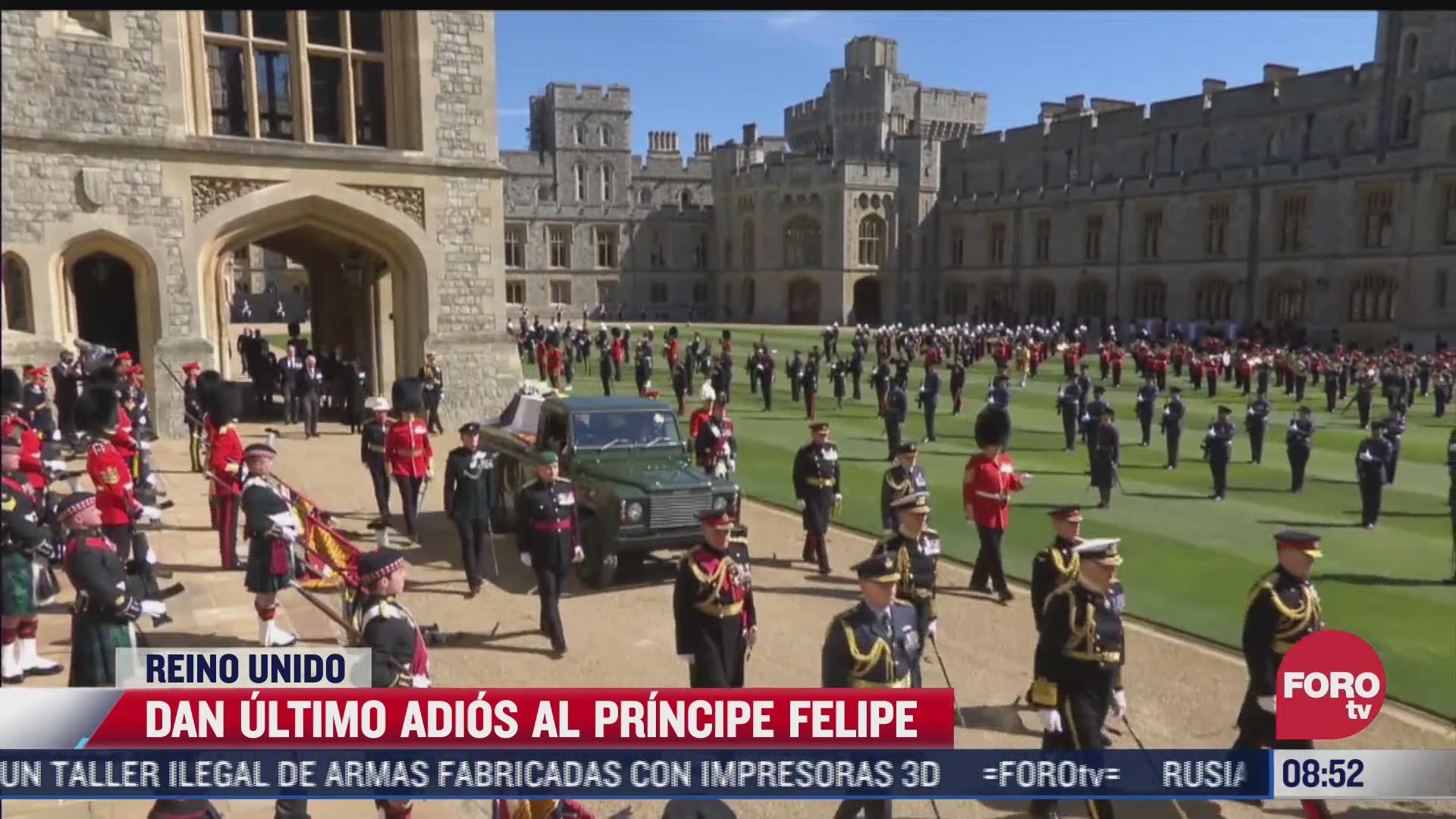 familia real da el ultimo adios al principe felipe en reino unido