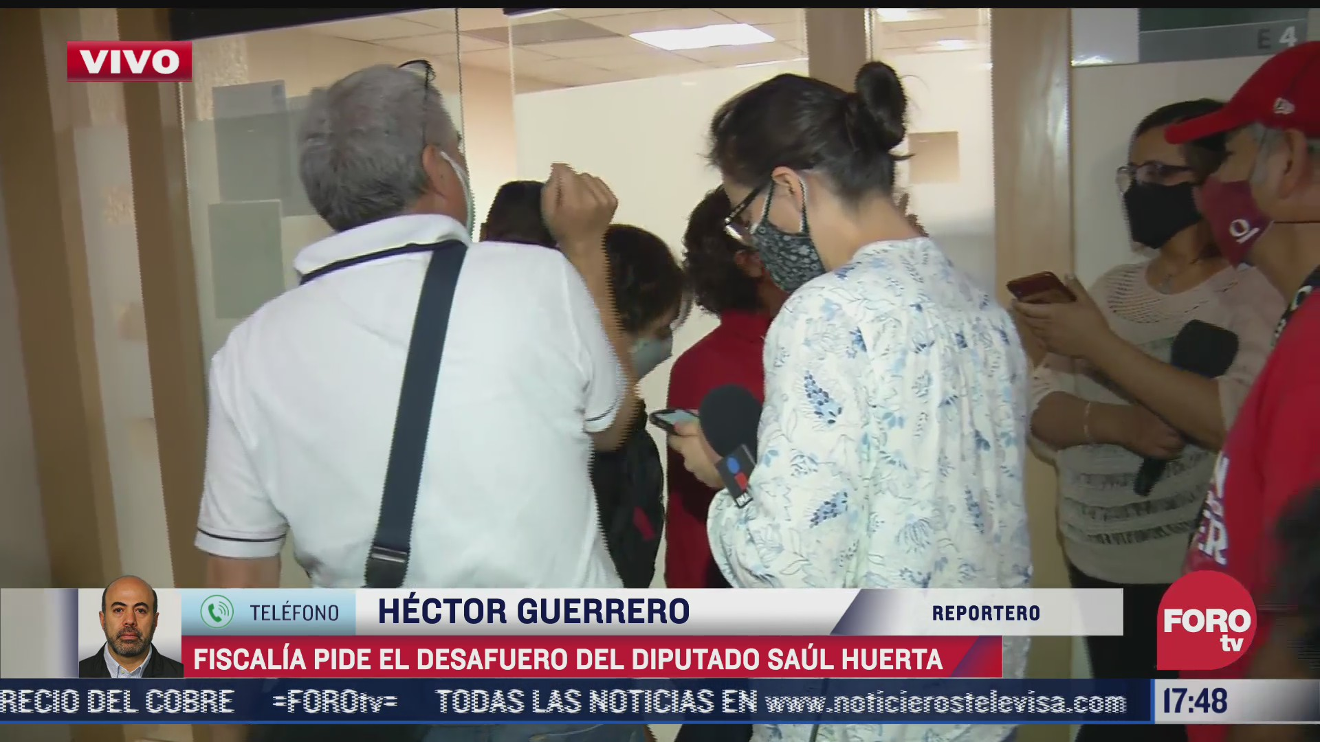 fiscalia de cdmx entrega a camara de diputados solicitud de desafuero a saul huerta