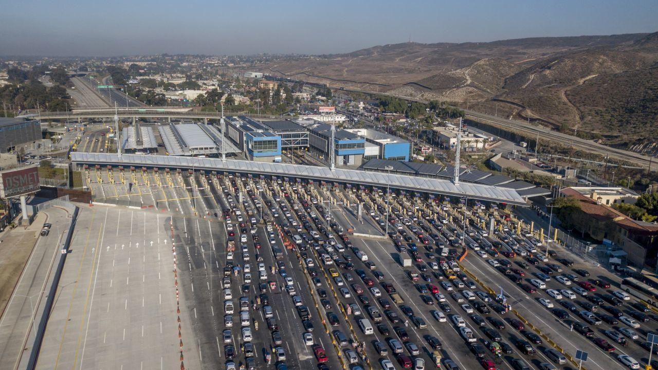 Frontera terrestre entre México y Estados Unidos, cerrada desde el comienzo de la pandemia