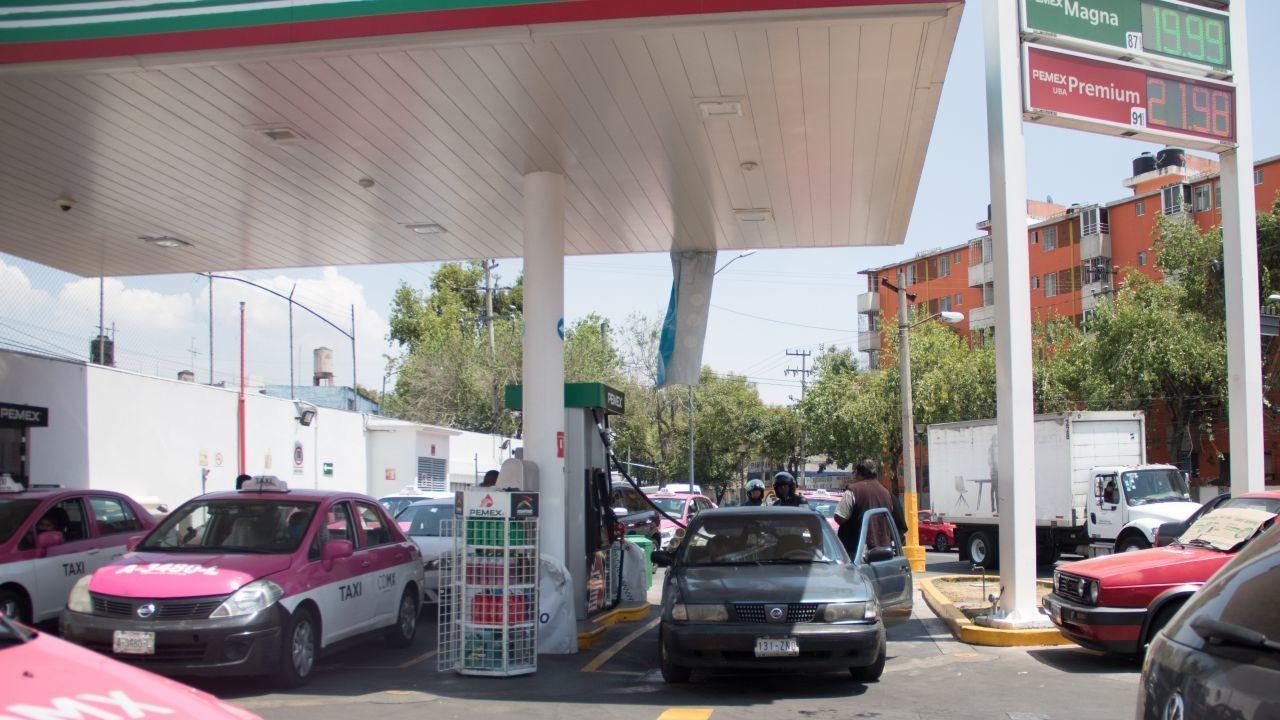 gasolina en la capital del país