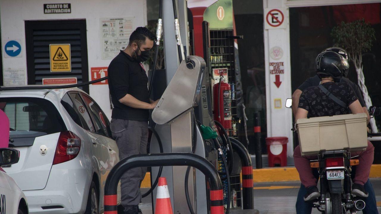 Gasolinera en alcaldía Cuauhtémoc (Cuartoscuro, archivo)