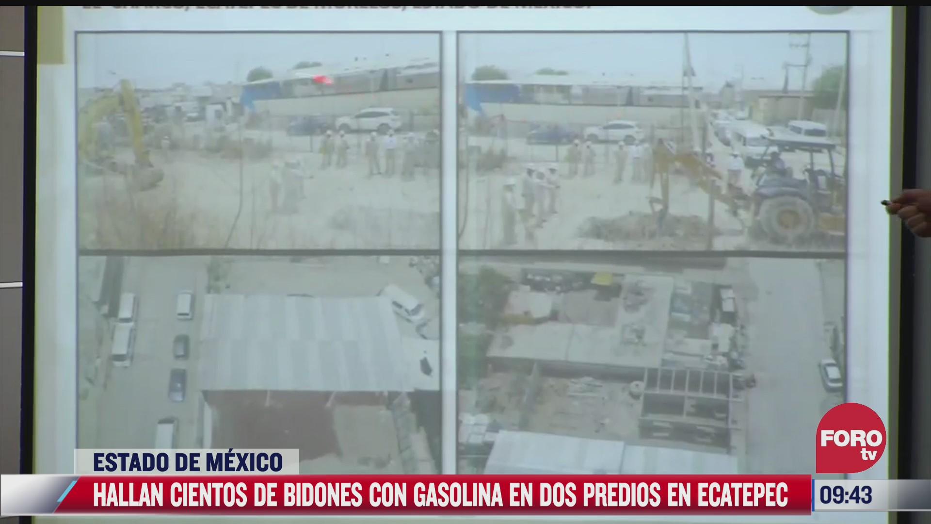 hallan toman clandestina en ecatepec estado de mexico