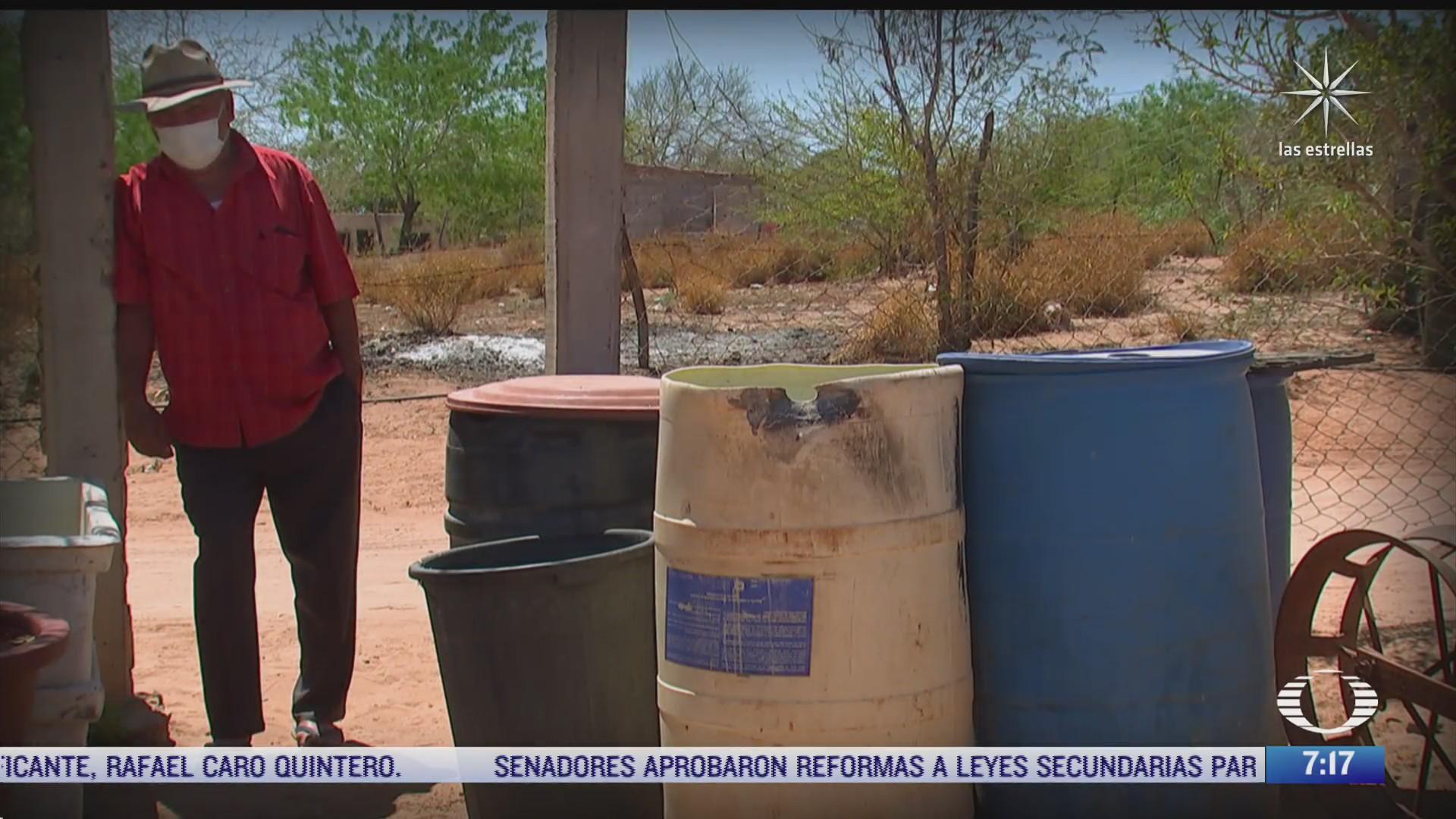 historica escasez de agua potable se agudiza en mexico