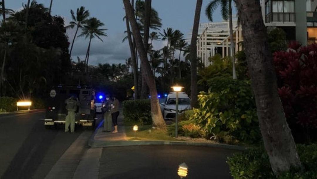 Hombre se atrinchera y dispara desde cuarto de hotel en Hawái