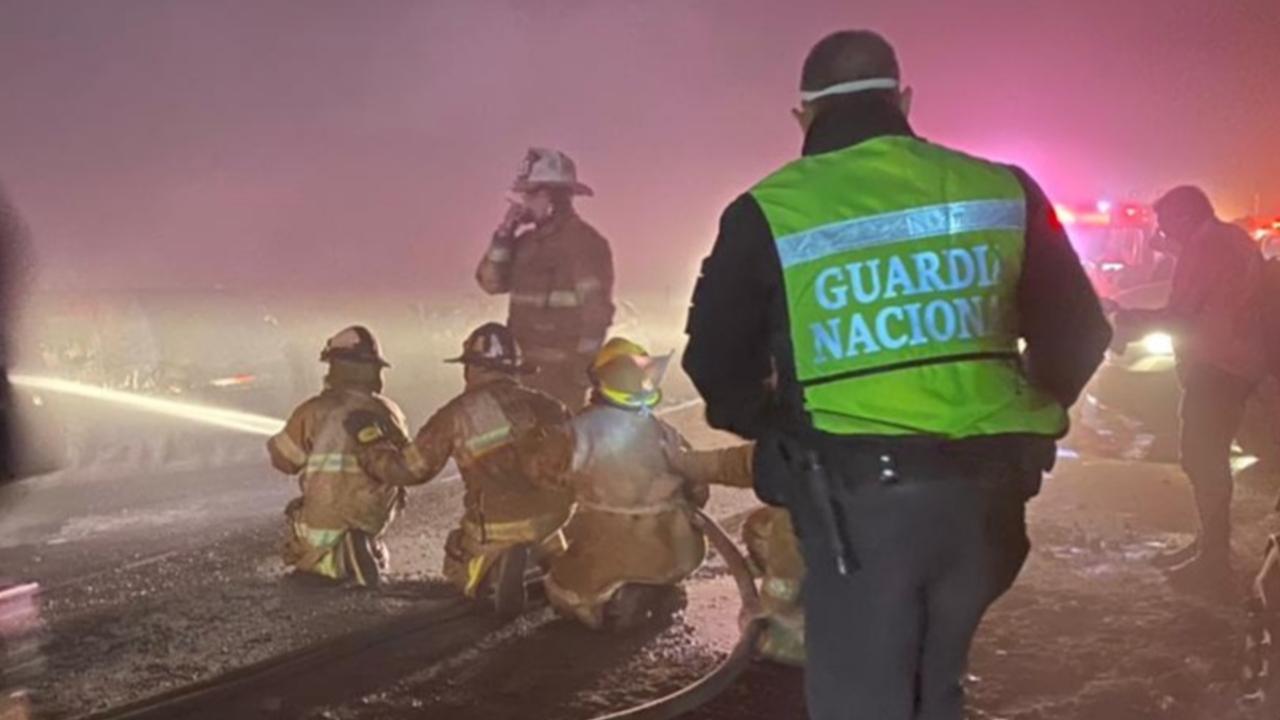 Bomberos y elementos de Protección Civil atendieron la emergencia
