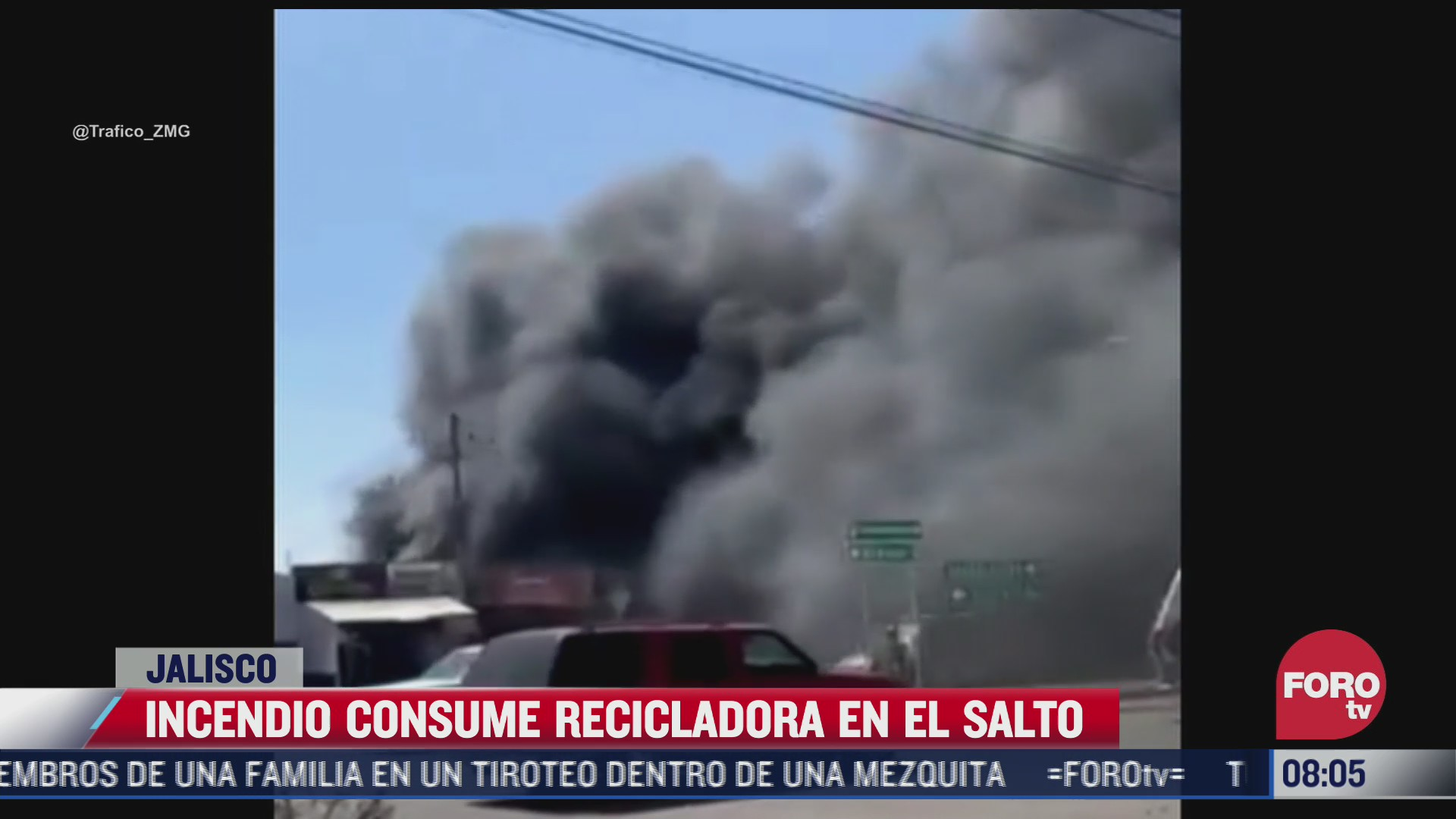 incendio consume planta recicladora en jalisco