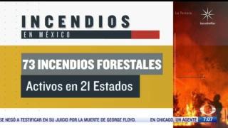 incendios forestales en mexico afectan 16 mil hectareas