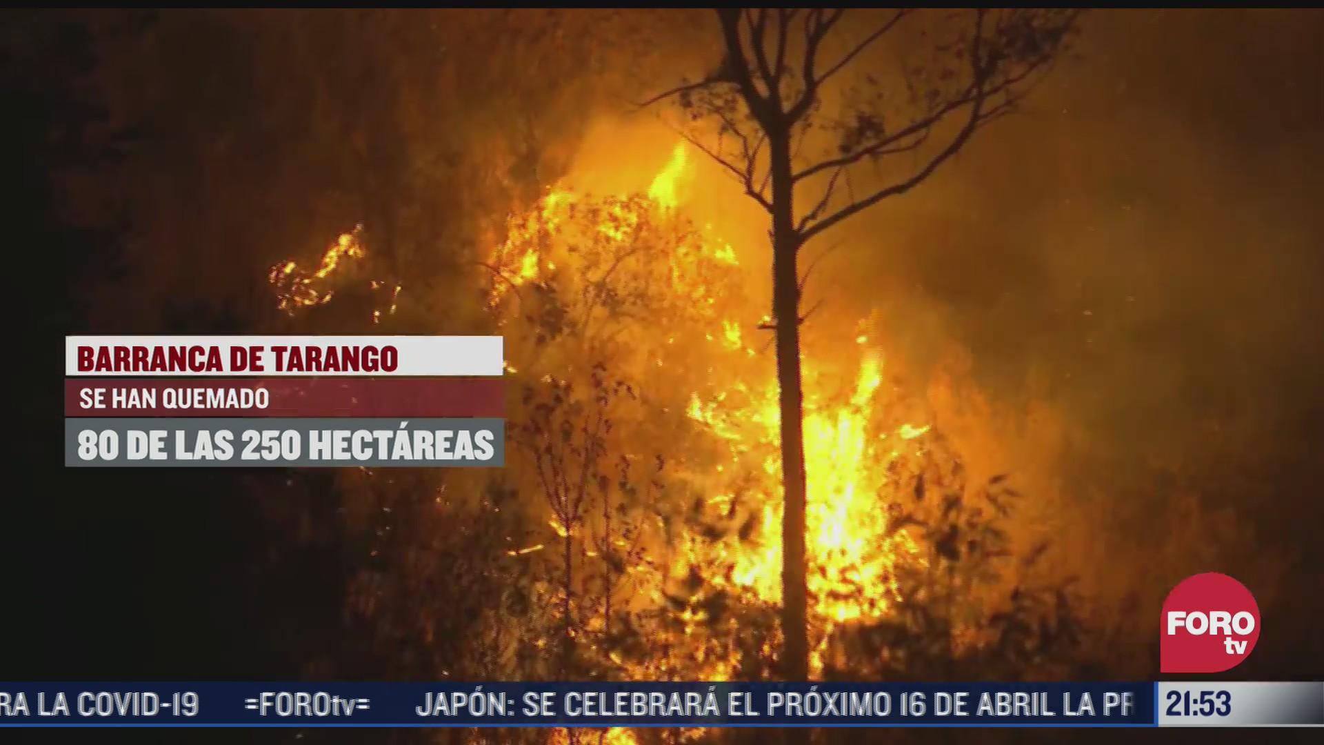 incremento del 326 de incendios forestales en alvaro obregon