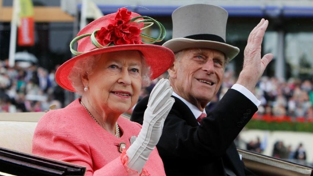 Isabel II y el príncipe Felipe, duque de Edimburgo